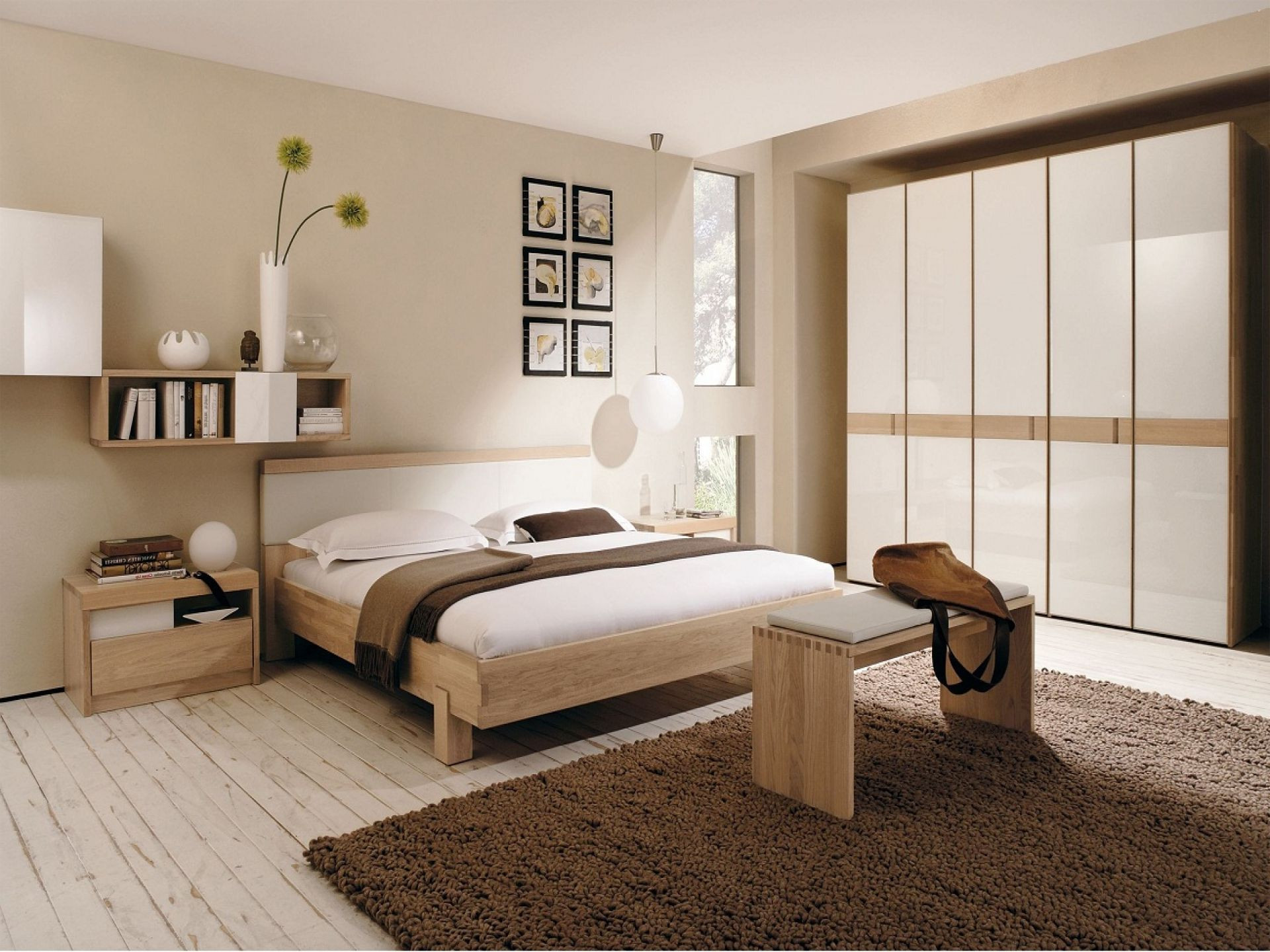 Light Brown Bedroom  Color binations For Bedrooms Say Goodbye To Your