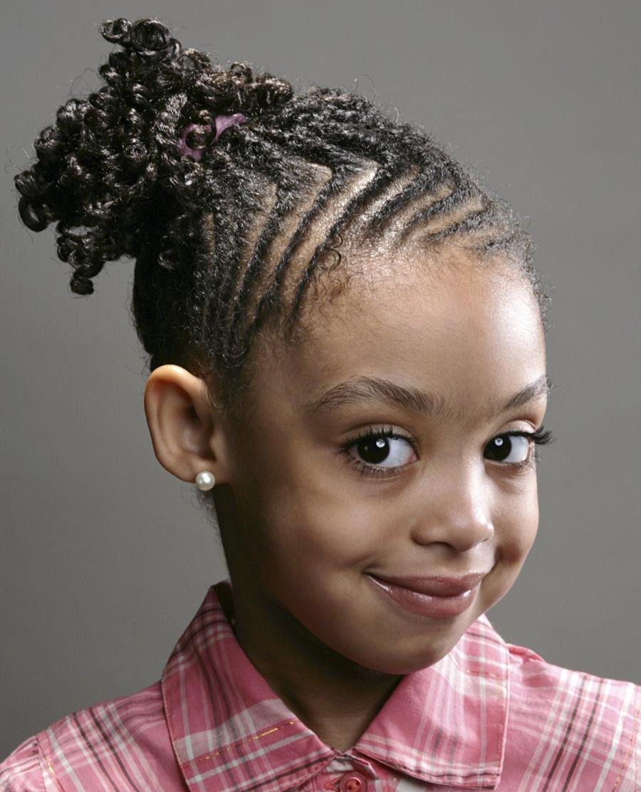 Little Black Girl Hairstyles  64 Cool Braided Hairstyles for Little Black Girls – HAIRSTYLES