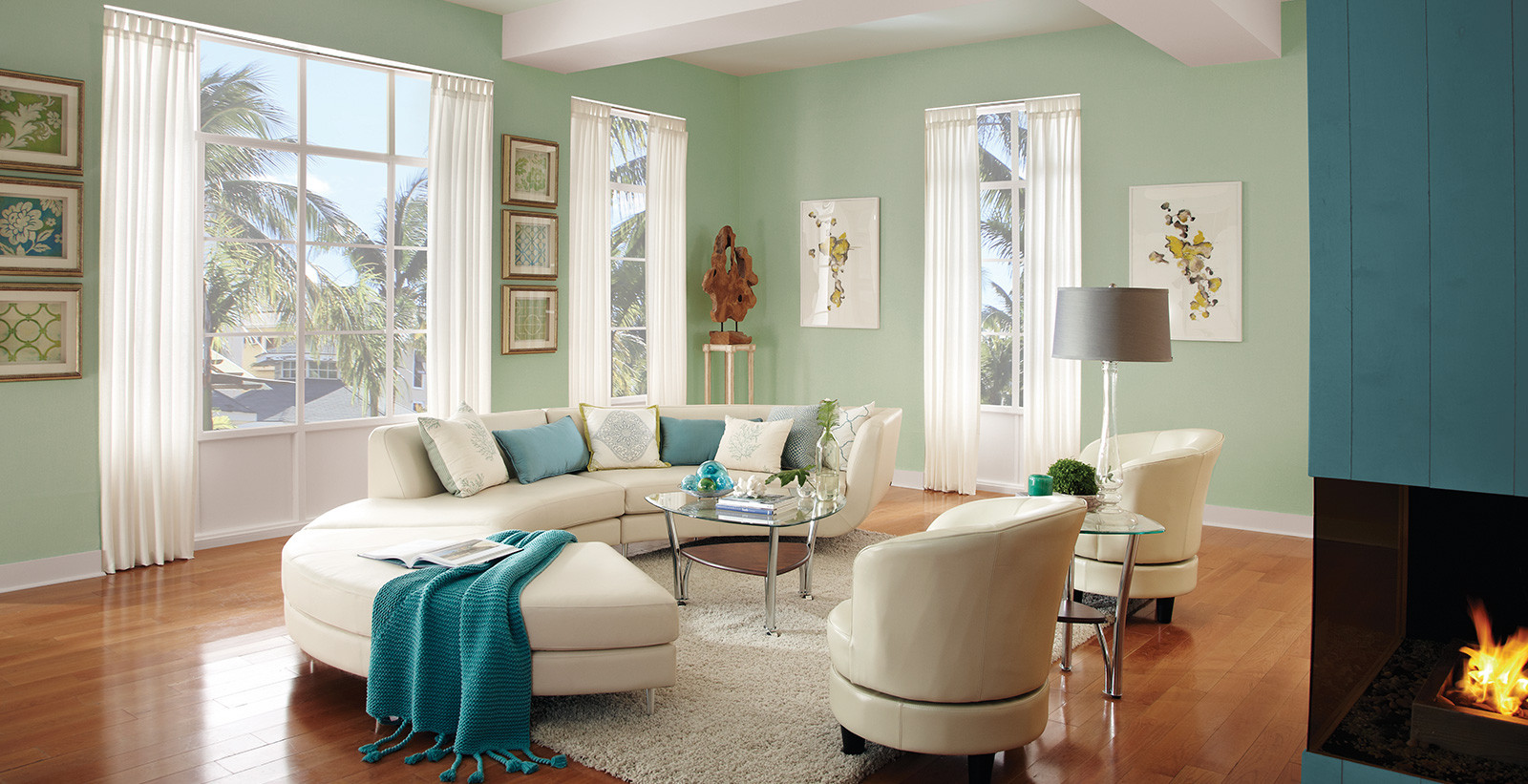 Living Room Paint Color  Calming Living Room Ideas and Inspirational Paint Colors