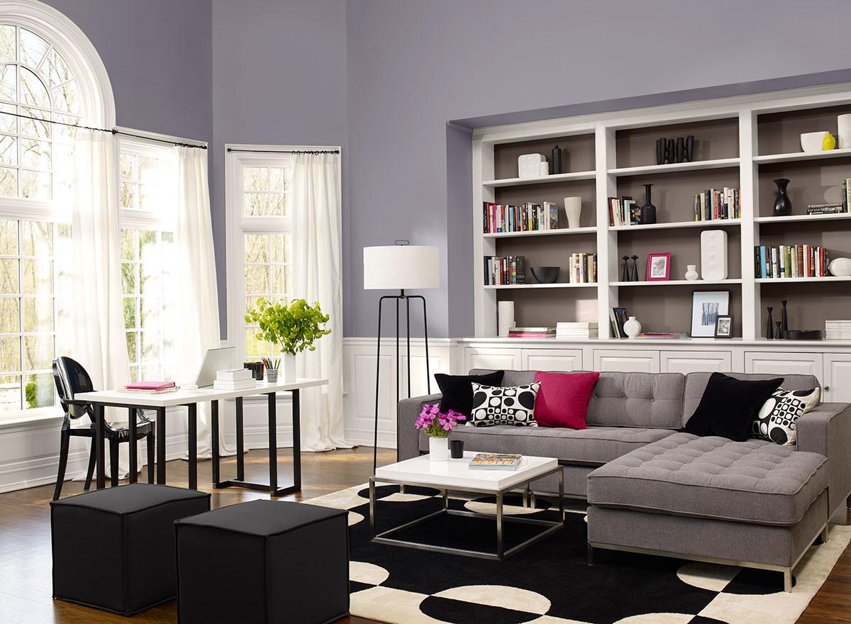 Living Room Paint Color  Favorite Paint Color Benjamin Moore Edge b Gray