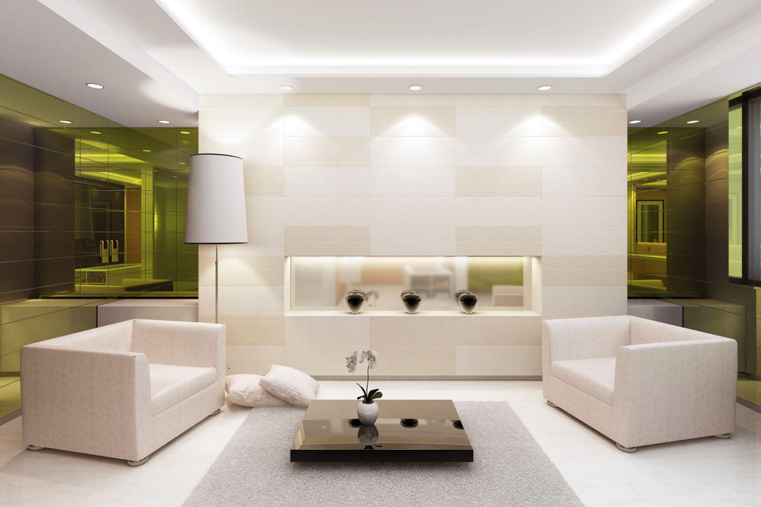 Living Room Spotlights  40 Bright Living Room Lighting Ideas