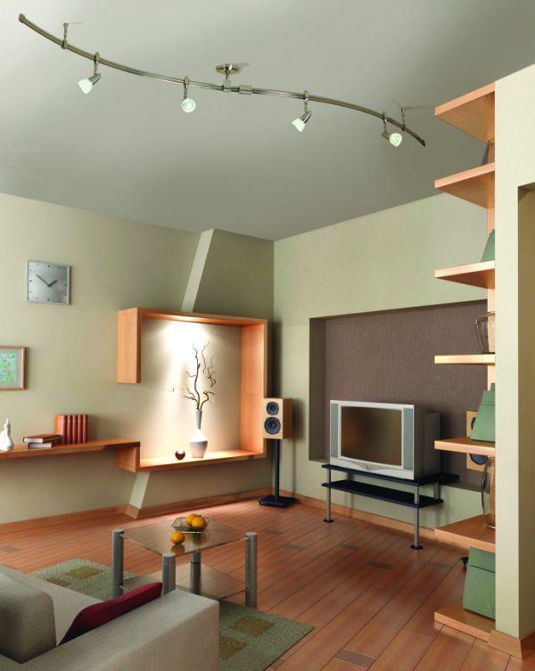 Living Room Spotlights  25 Living Room Lighting Ideas For Right Illumination
