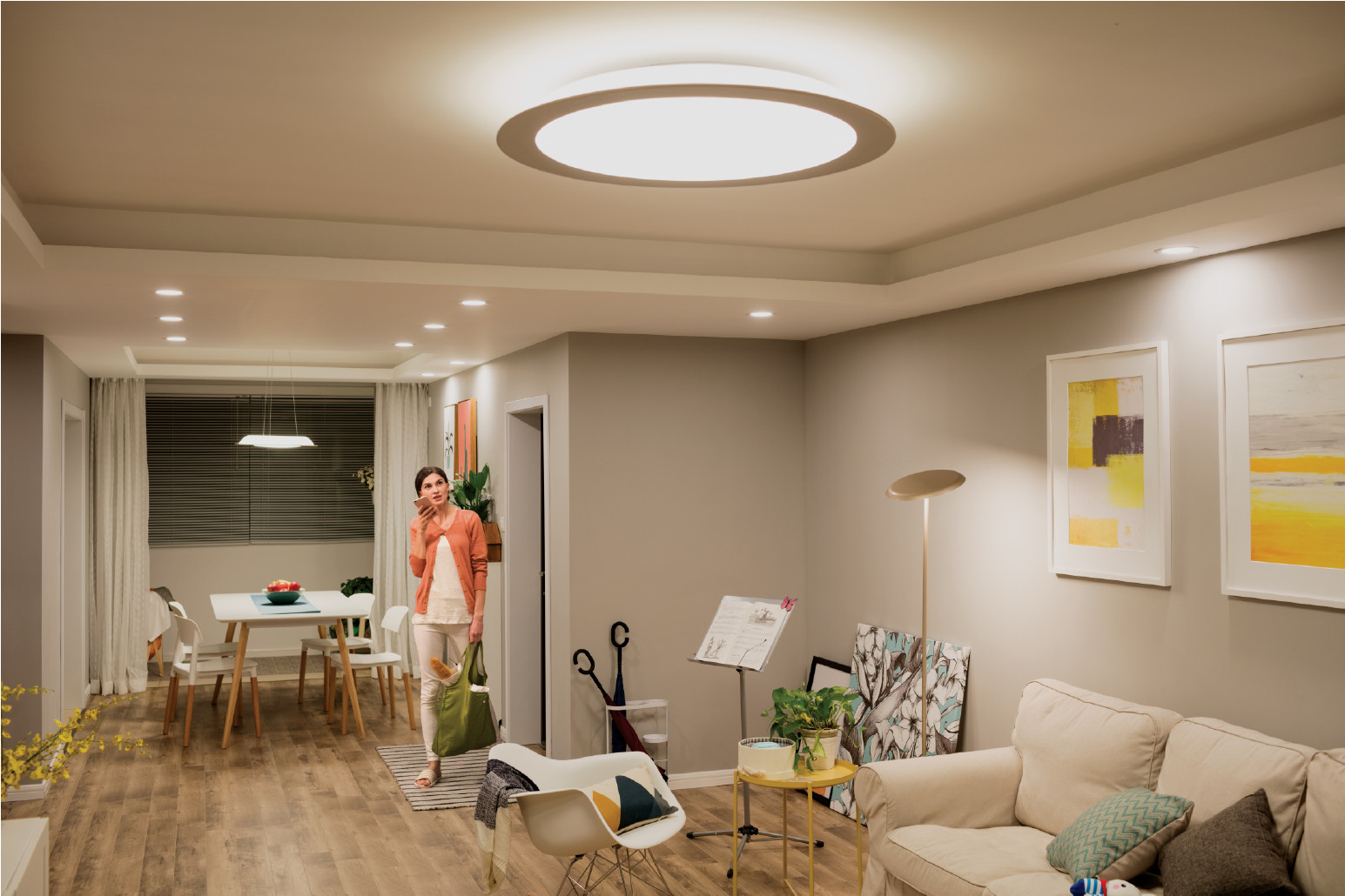 Living Room Spotlights  Stylish Living Room Lighting Ideas Meethue