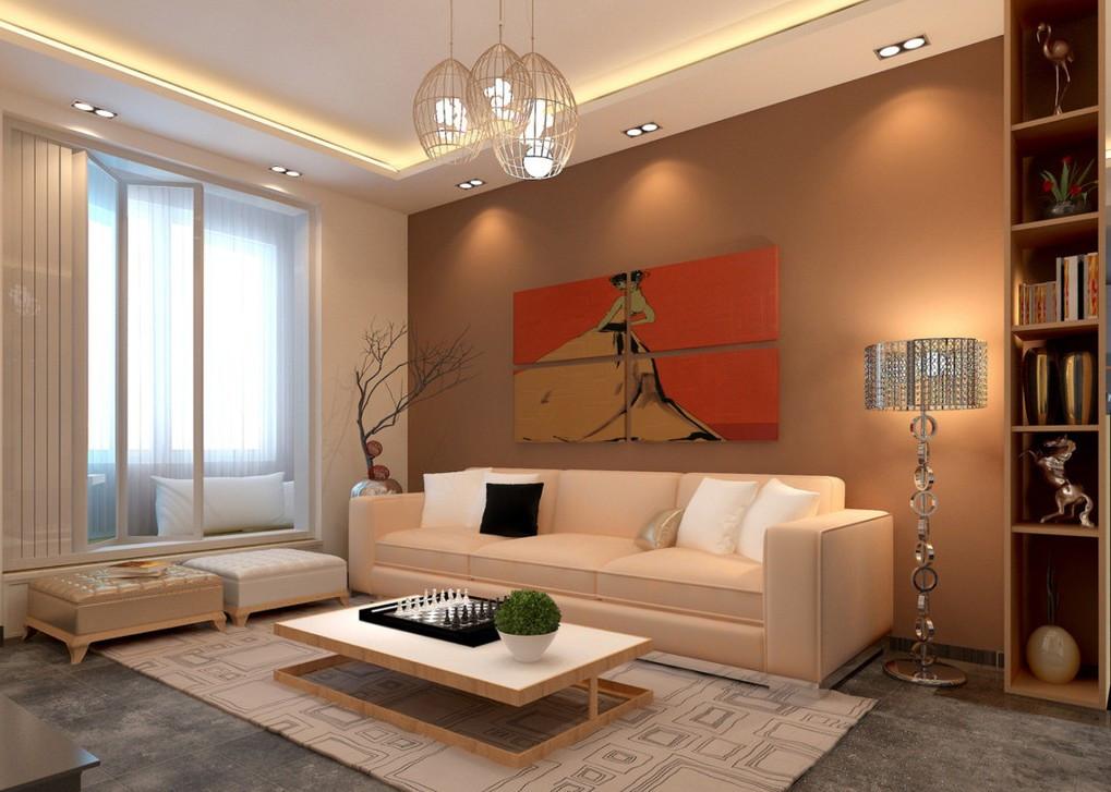 Living Room Spotlights  Some Useful Lighting Ideas For Living Room Interior