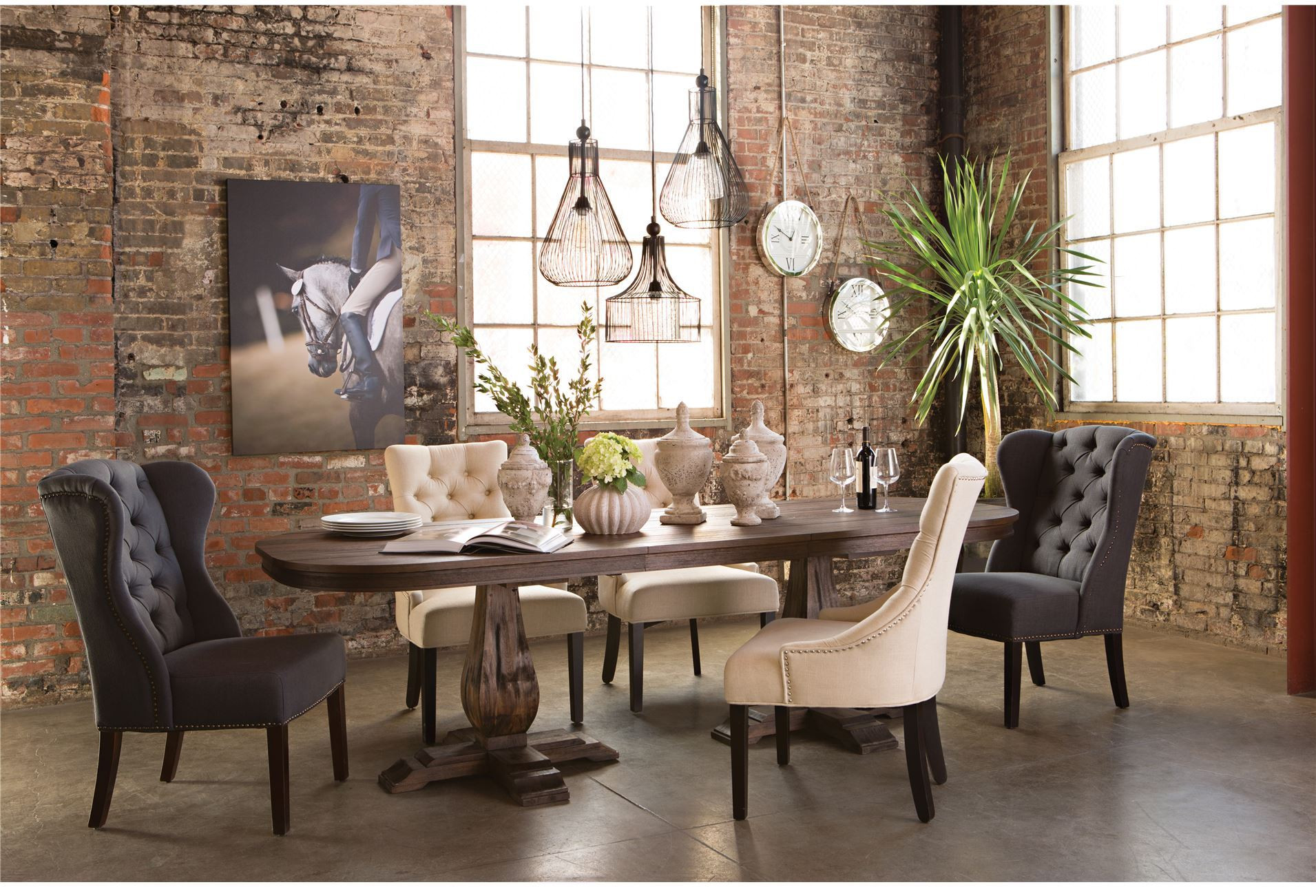 Living Spaces Kitchen Tables  Diego Dining Table Living Spaces