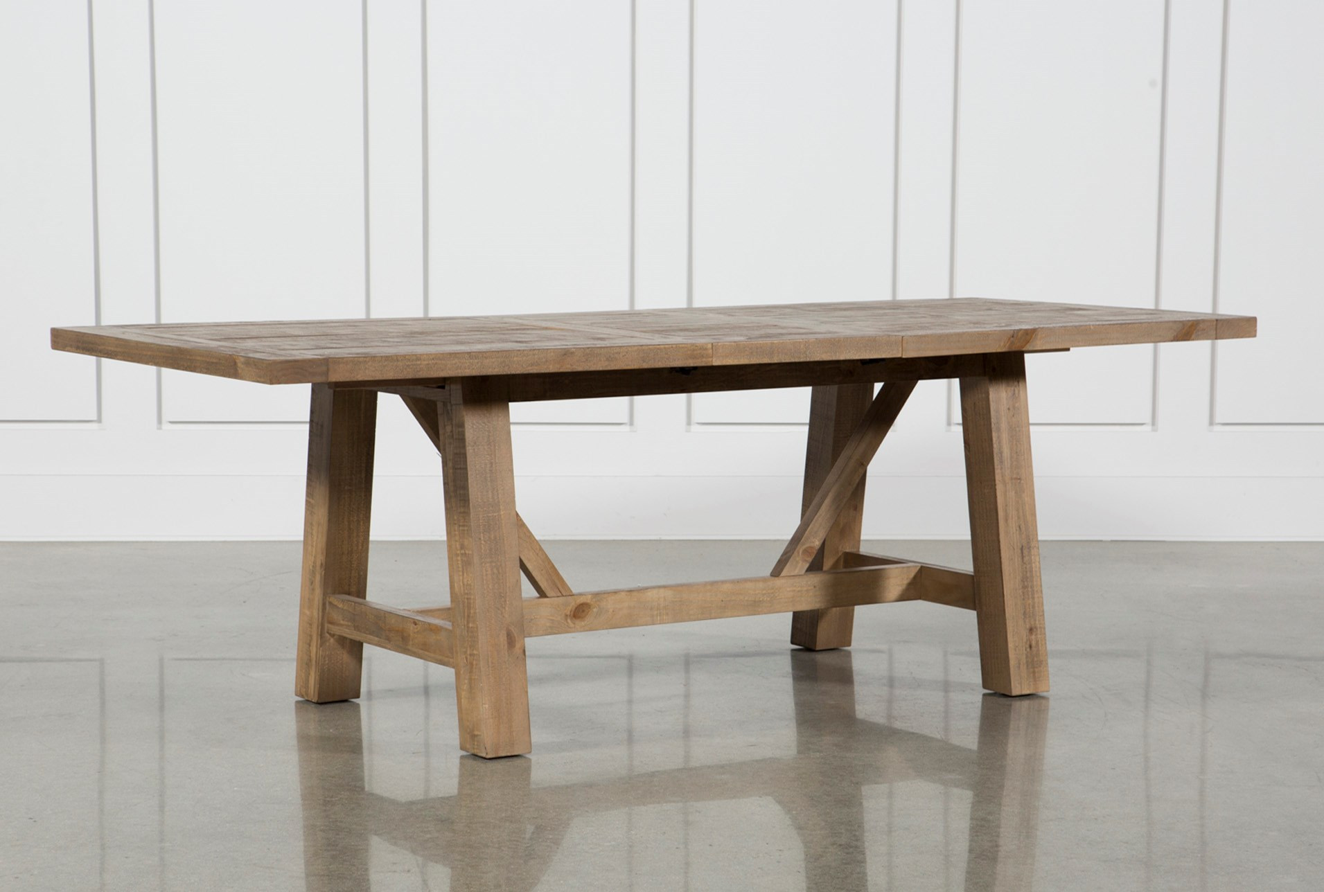 Living Spaces Kitchen Tables  Market Dining Table