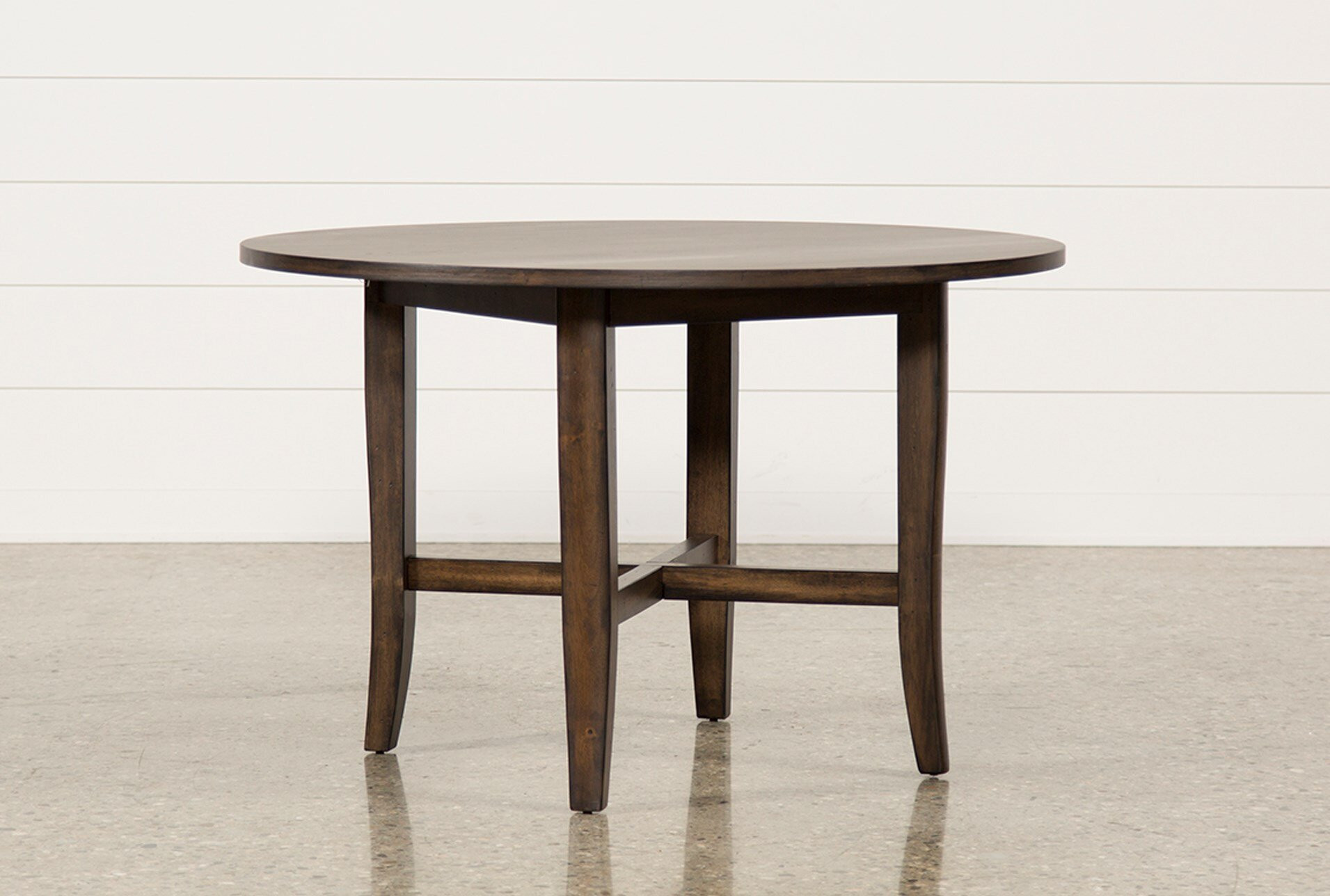 Living Spaces Kitchen Tables  Grady Round Dining Table