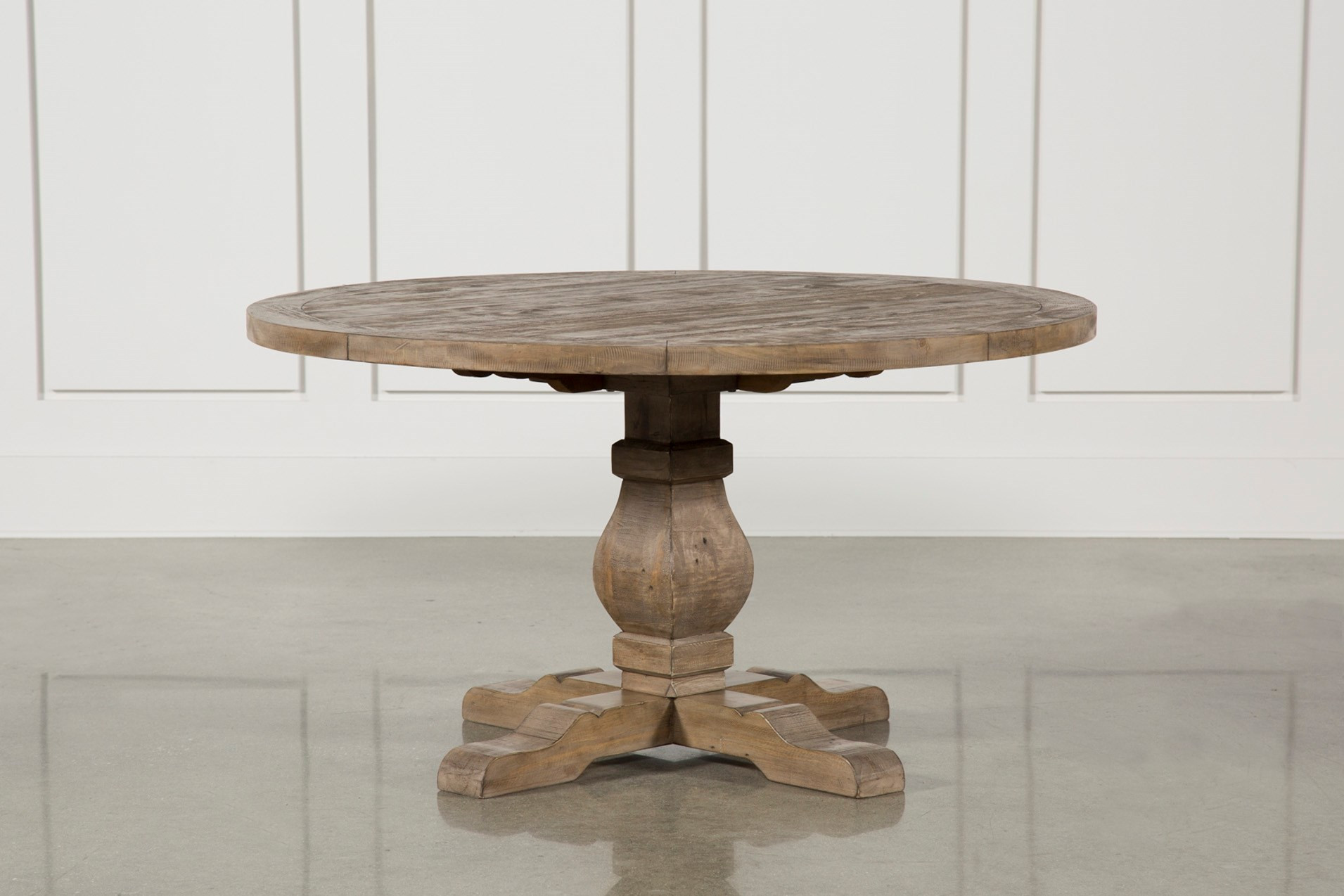 Living Spaces Kitchen Tables  Caden Round Dining Table