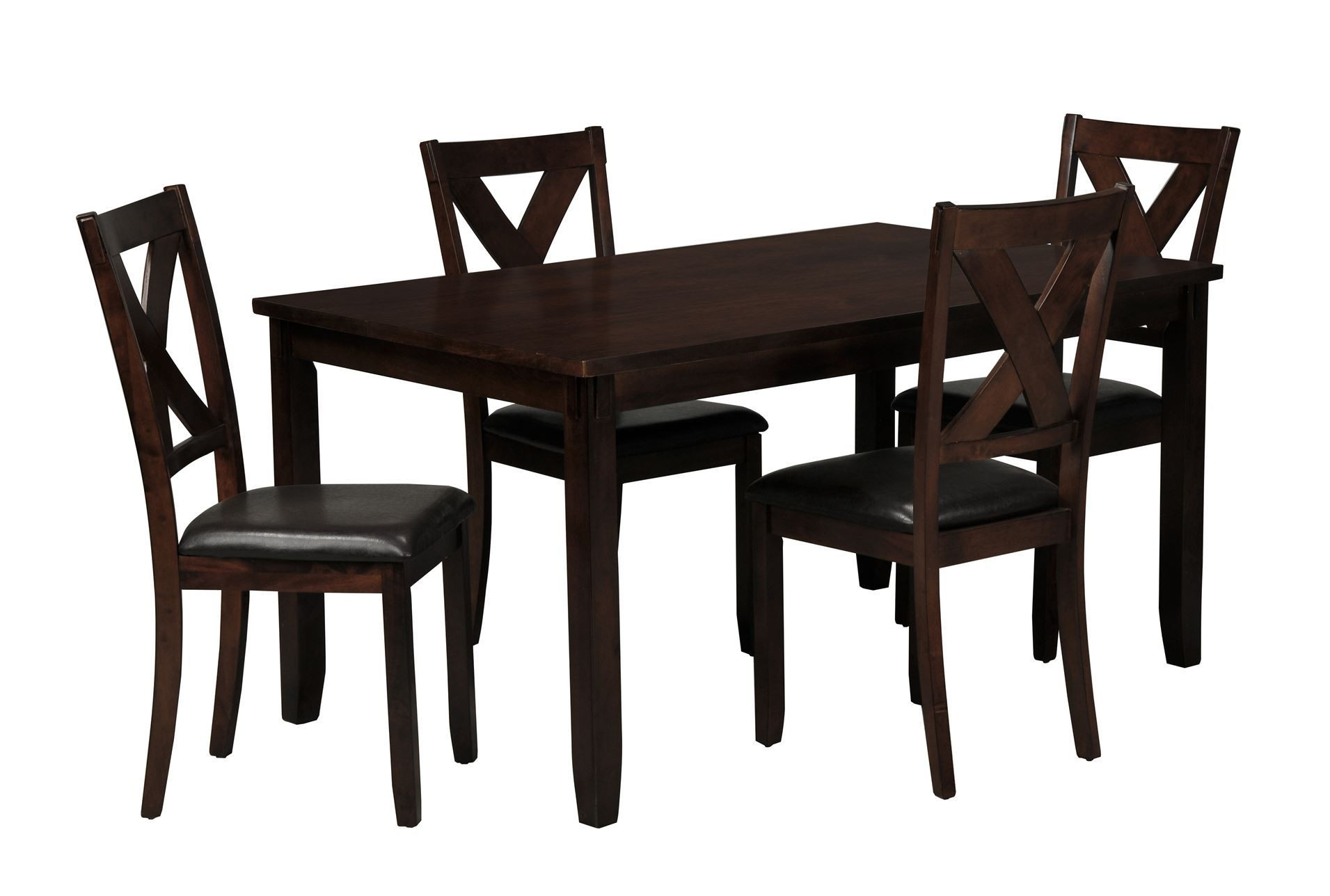 Living Spaces Kitchen Tables  Dakota 5 Piece Dining Table W Side Chairs Living Spaces
