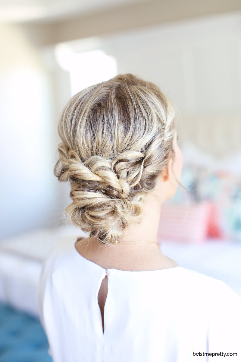 Long Hairstyles For Me  Easy Home ing Updo