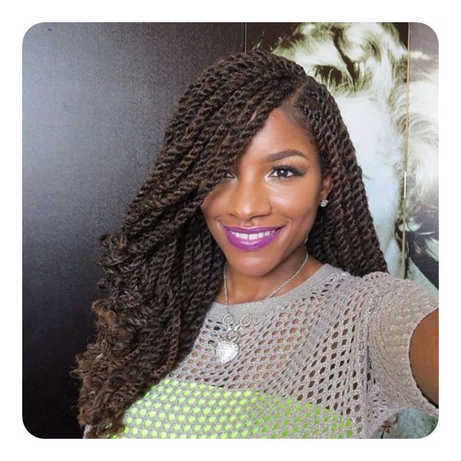 Long Kinky Twist Hairstyles  84 y Kinky Twist Hairstyles to Try This Year