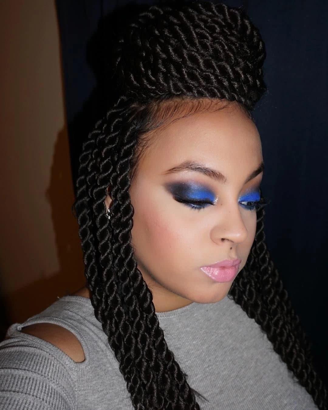 Long Kinky Twist Hairstyles  Long kinky twist hairstyles with extensions Tuko