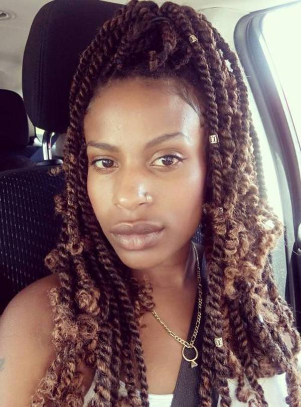 Long Kinky Twist Hairstyles  27 Incredible Kinky Twist to Solve your Hair Dilemma