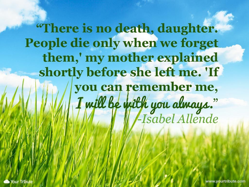 Losing A Mother Quotes From Daughter  Loss of Mother
