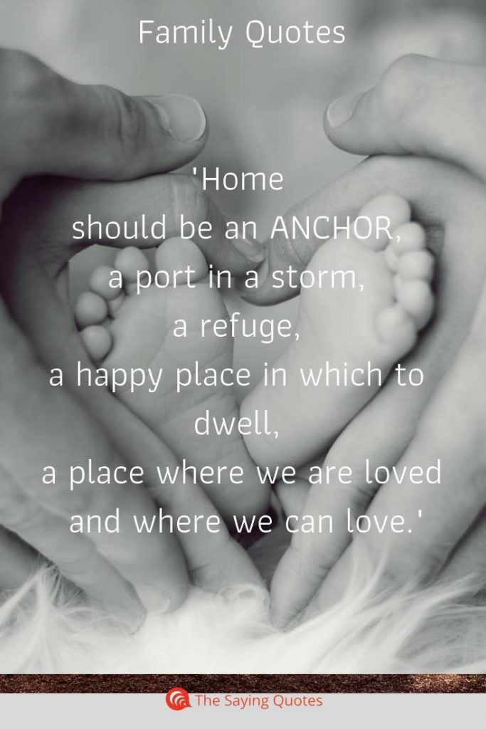 Love Family Quotes  52 Loving Quotes About Family That Will Improve Your