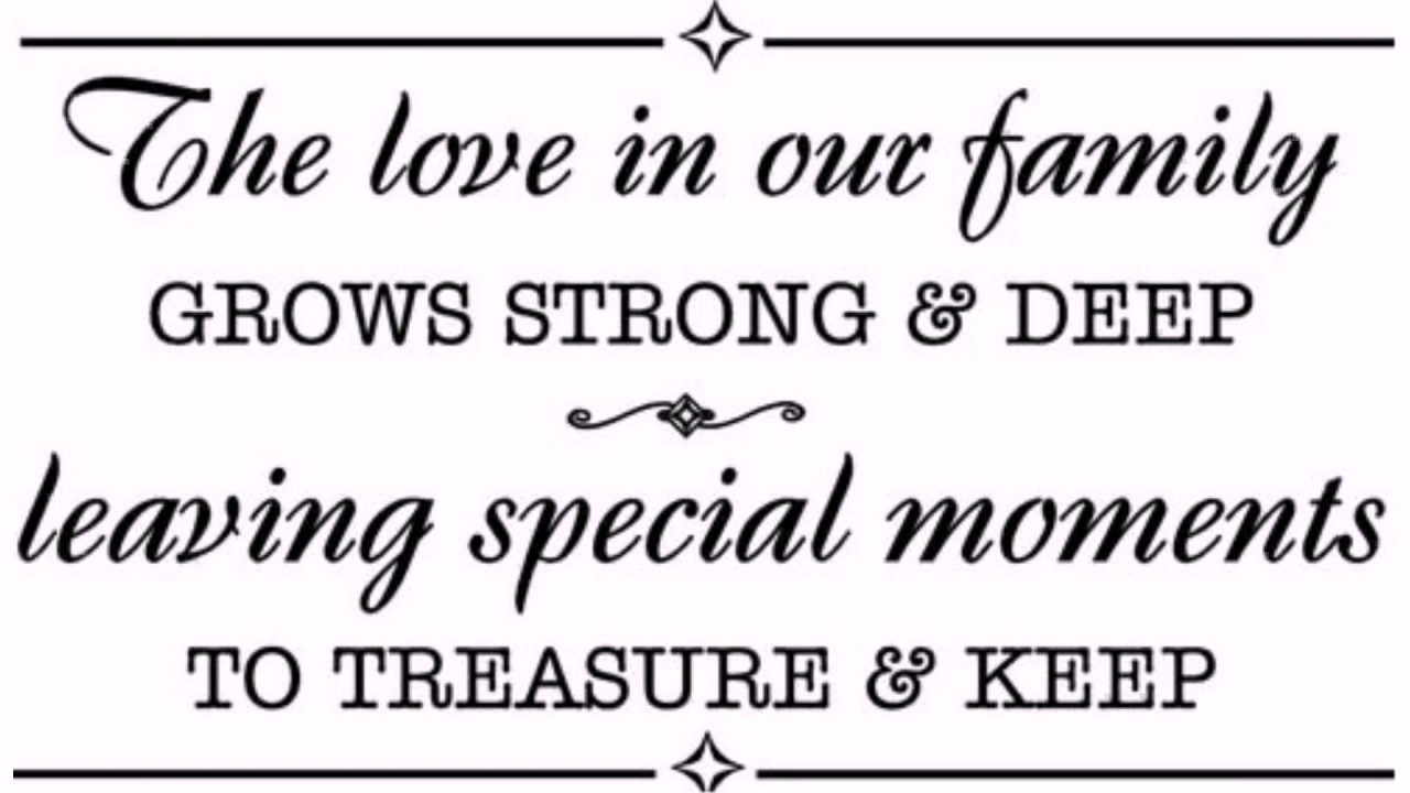 Love Family Quotes  family love quotes