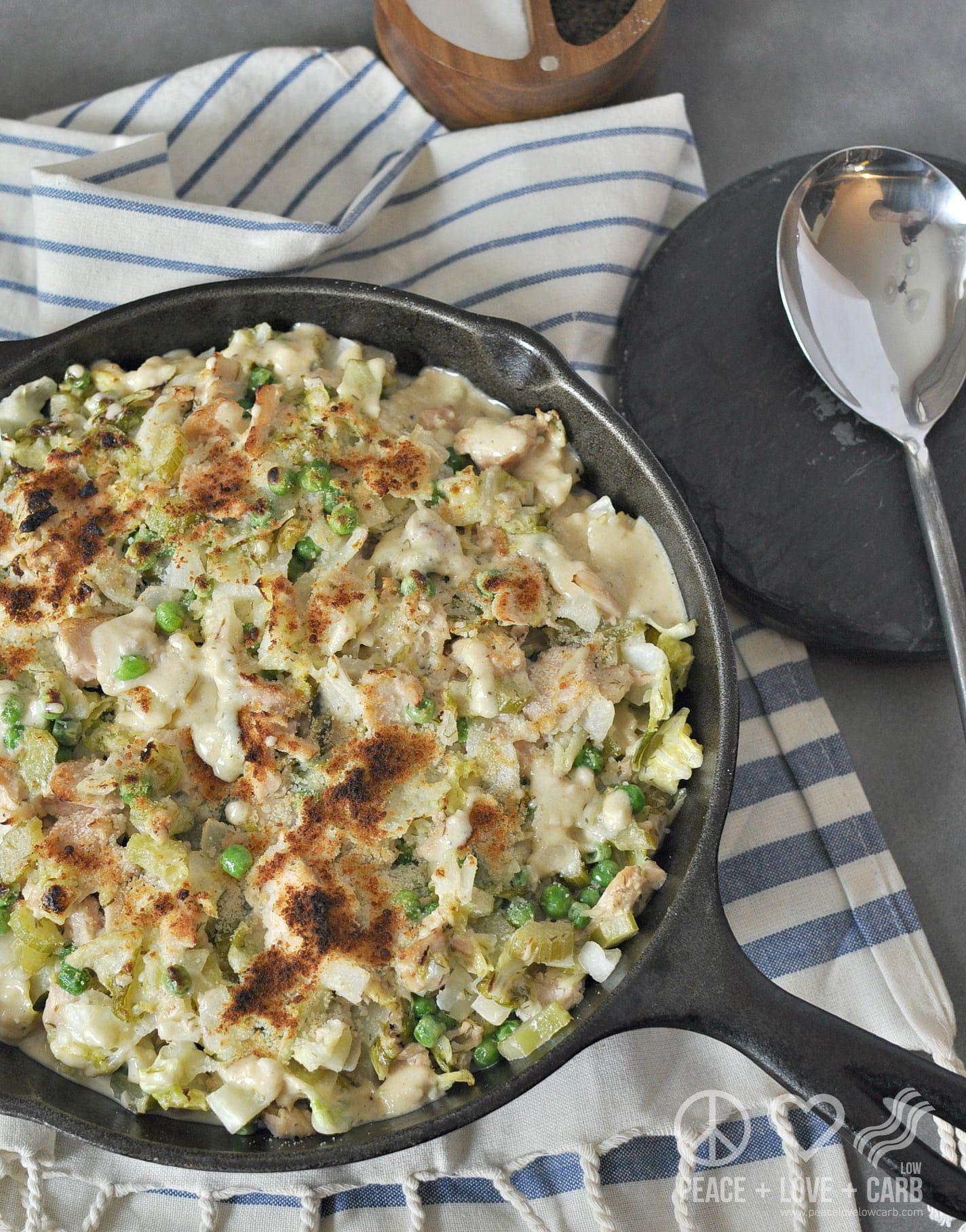 Low Carb Seafood Casserole  Cabbage Noodle Tuna Casserole – Low Carb Gluten Free
