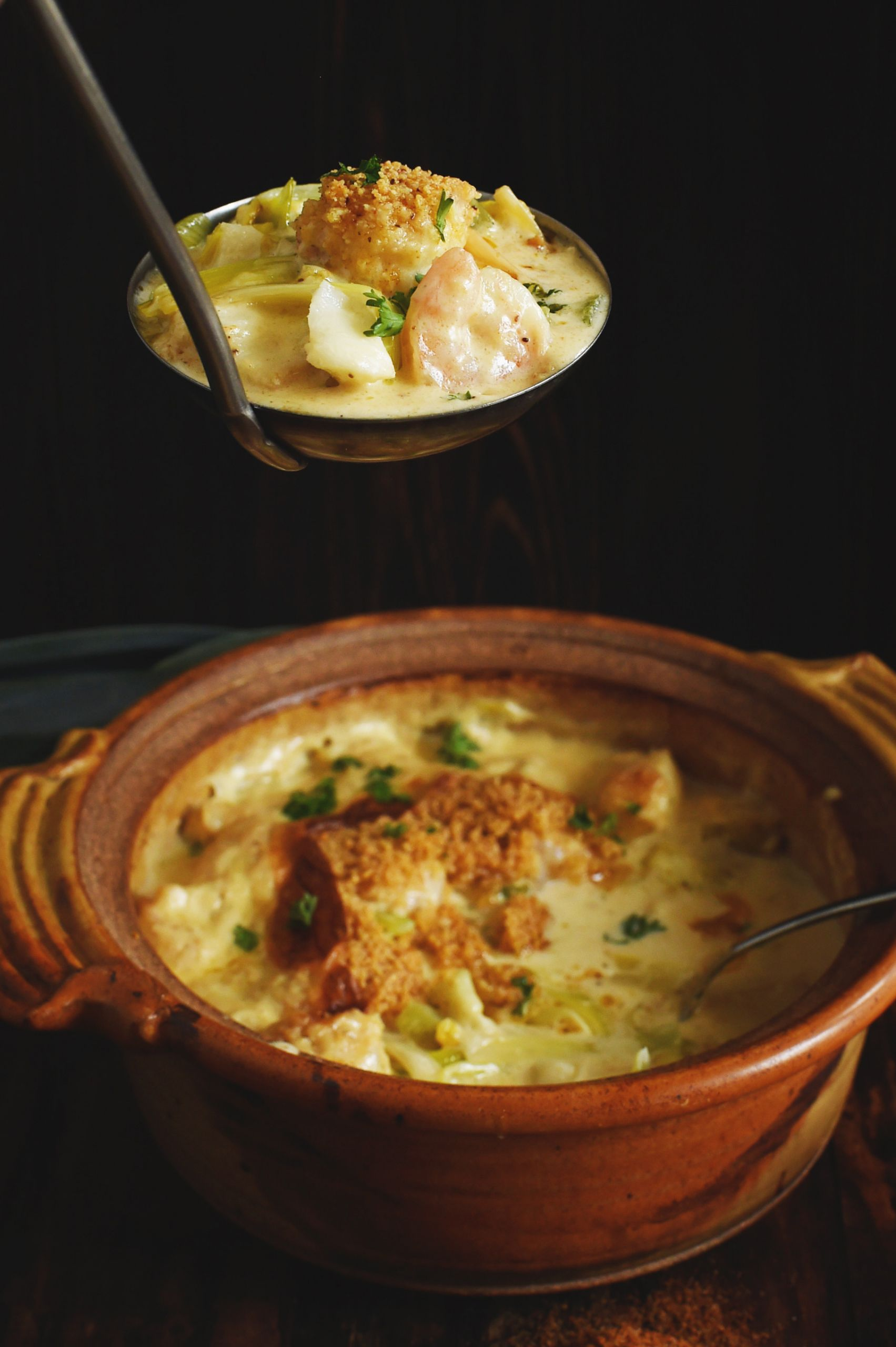 Low Carb Seafood Casserole  Low Carb Baked Seafood Casserole Recipe Simply So Healthy