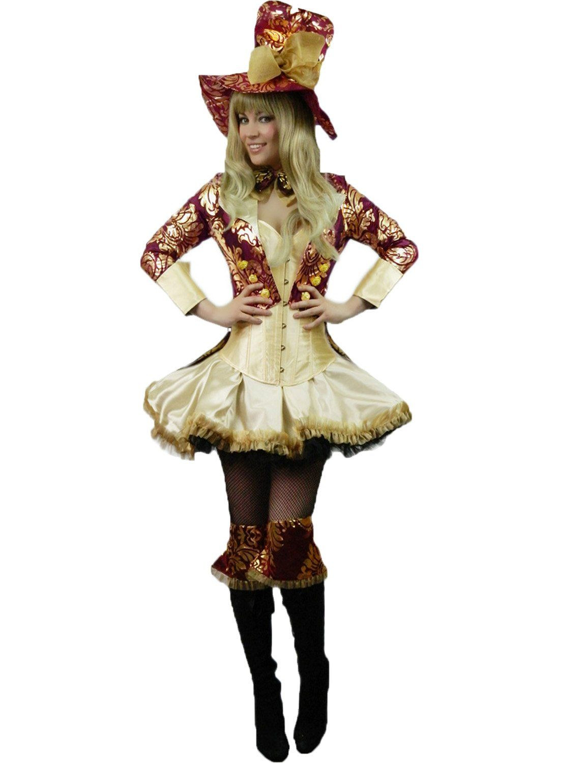 Mad Hatter Tea Party Costume Ideas  Yummy Bee Mad Hatter Tea Party Hostess Costume Womens