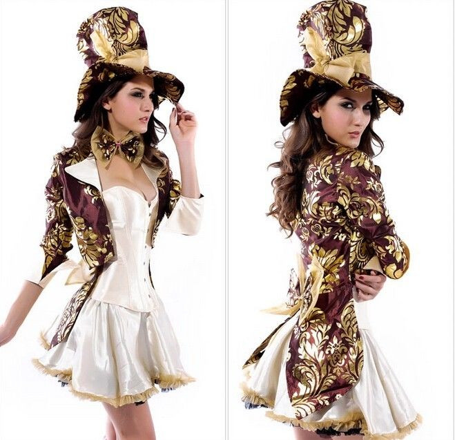 Mad Hatter Tea Party Costume Ideas  y La s Deluxe Mad Hatter Tea Party Alice In