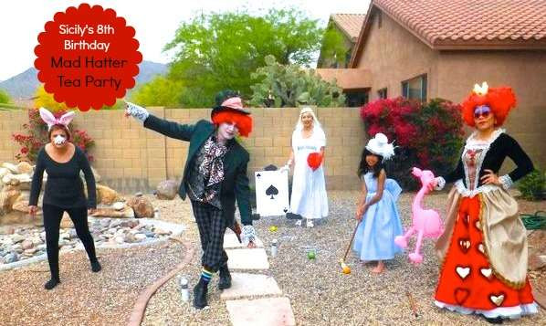 Mad Hatter Tea Party Costume Ideas  Mad Hatter Tea Party Birthday Party Ideas