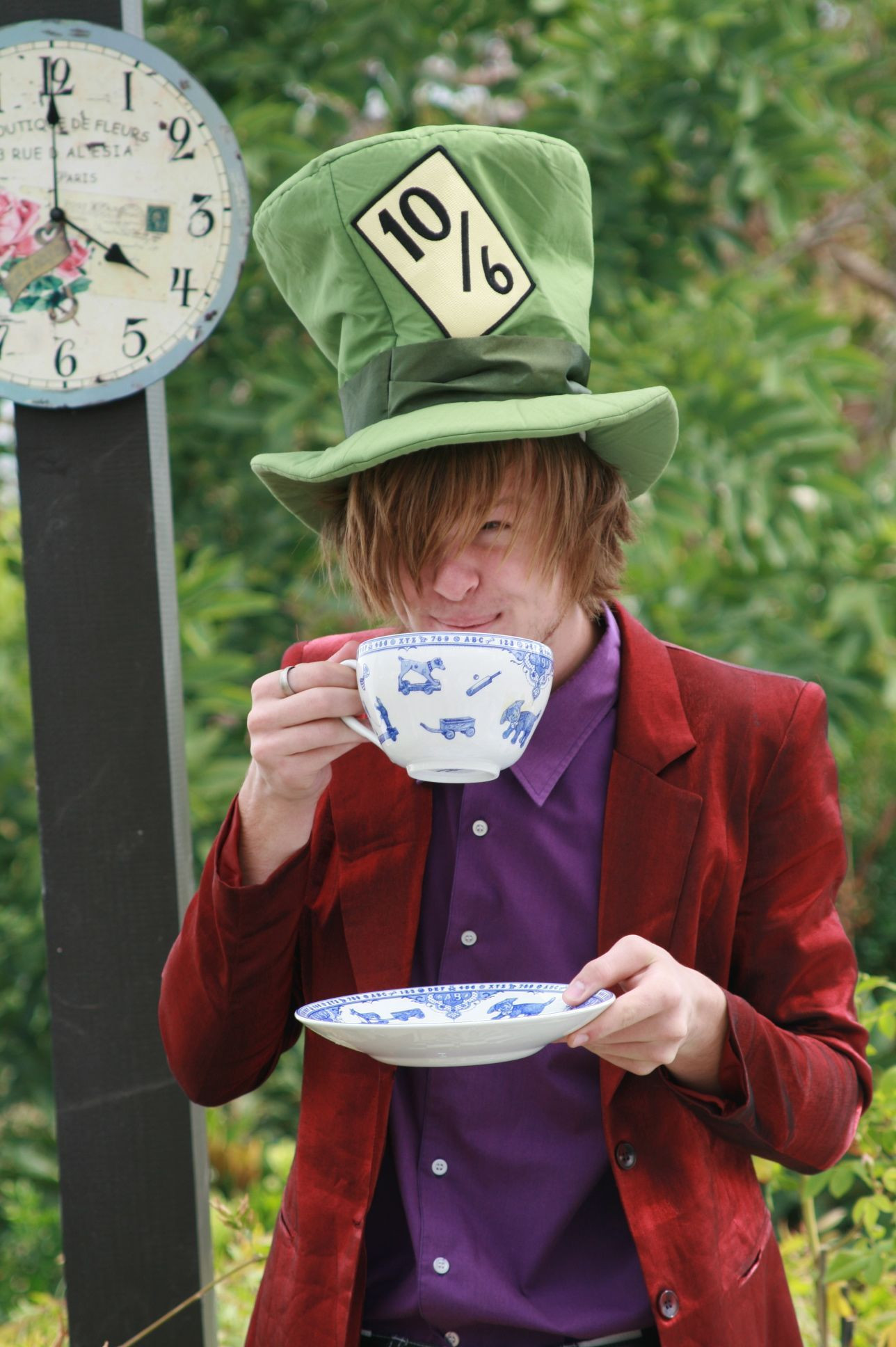 Mad Hatter Tea Party Costume Ideas  MaD HaTTeR Easter Tea Party With images