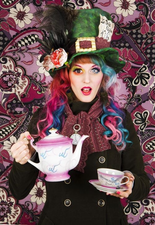 Mad Hatter Tea Party Costume Ideas  outfit looks pretty easy to pull off with just a little