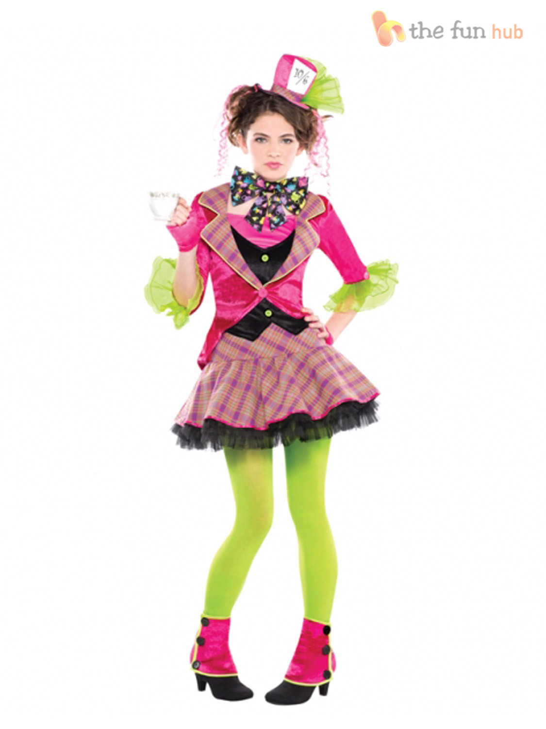 Mad Hatter Tea Party Costume Ideas  Girls Mad Hatter Costume Tea Party Teen Fancy Dress Book