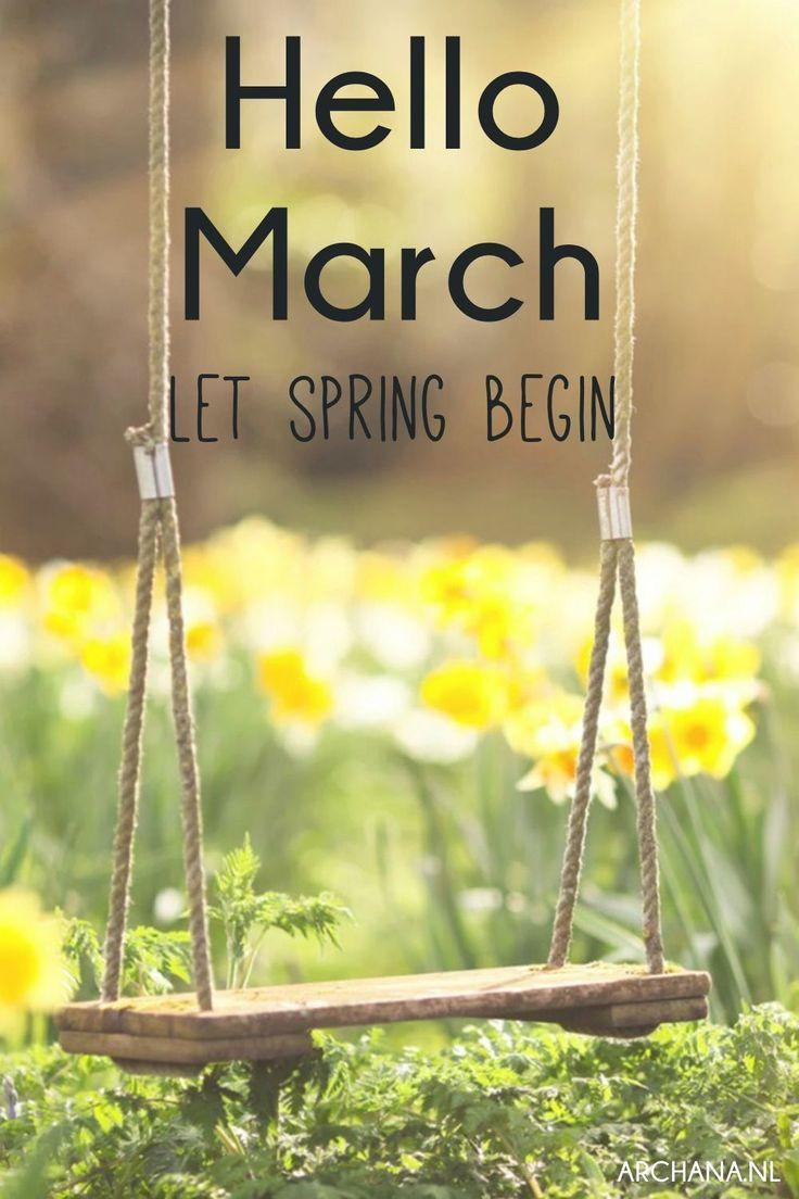 March Birthday Quotes  Quotes to live by Nieuwe maand Seizoenen en Spreuken