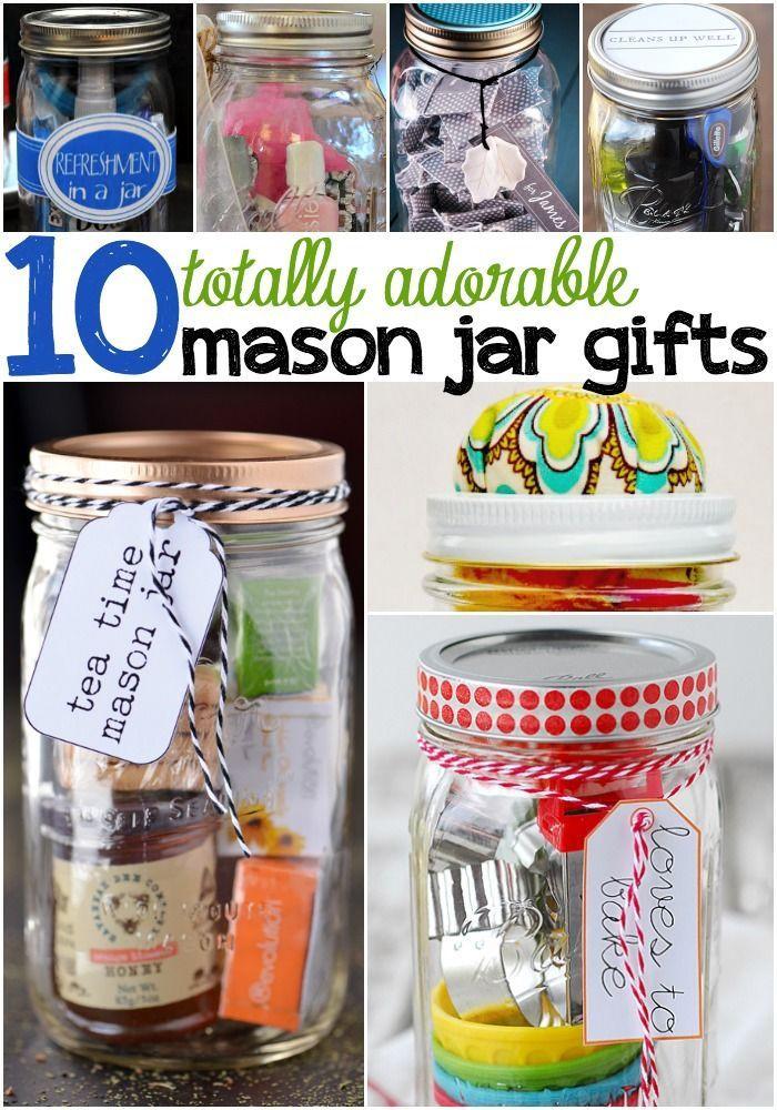 Mason Jar Birthday Gift Ideas  10 Super Cute Mason Jar Gifts