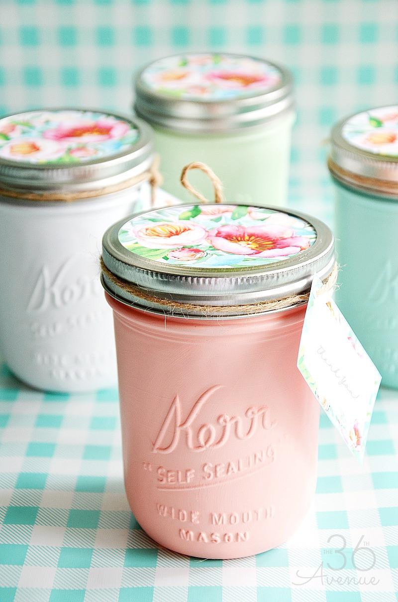 Mason Jar Birthday Gift Ideas  Mason Jars Handmade Gift Idea The 36th AVENUE