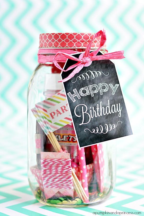Mason Jar Birthday Gift Ideas  Peppermint Brownies Mason Jar Gifts A Pumpkin And A Princess