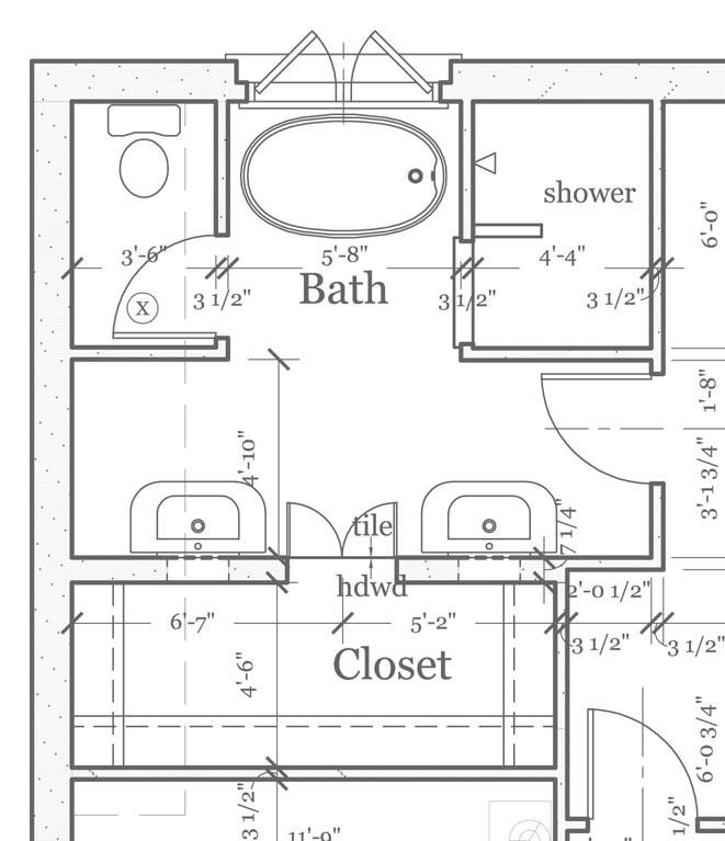 Master Bathroom Layout Plans  Blog Archive master bathroom