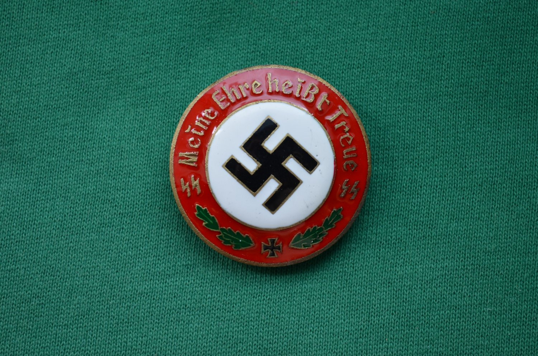 Meine Pins  WWII THE GERMAN BADGE WAFFEN SS SS MEINE EHRE HEIßT TREUE