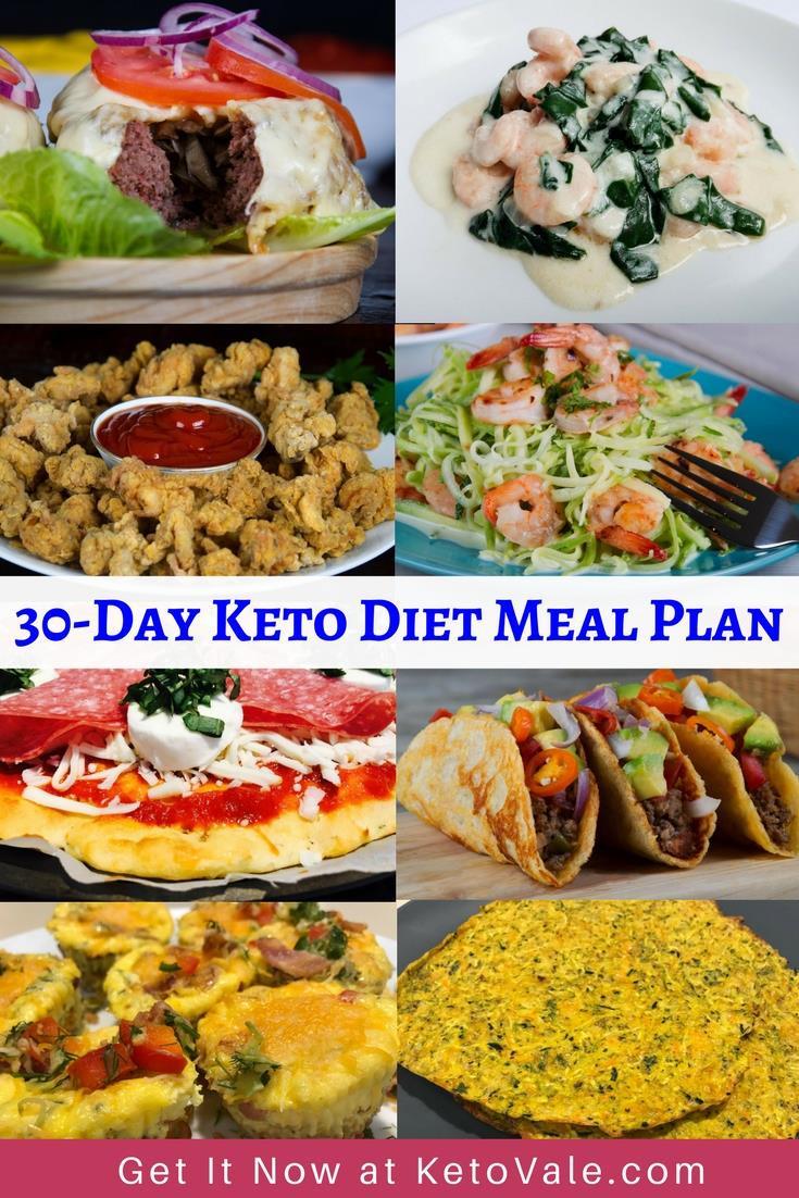 Menu For Keto Diet  30 Day Keto Diet Meal Plan Shopping List & Free PDF Menu