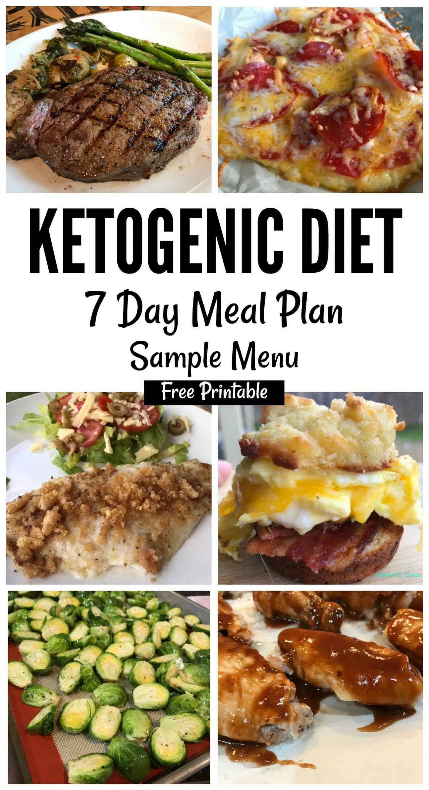 Menu For Keto Diet  Keto Sample Menu 7 Day Plan iSaveA2Z