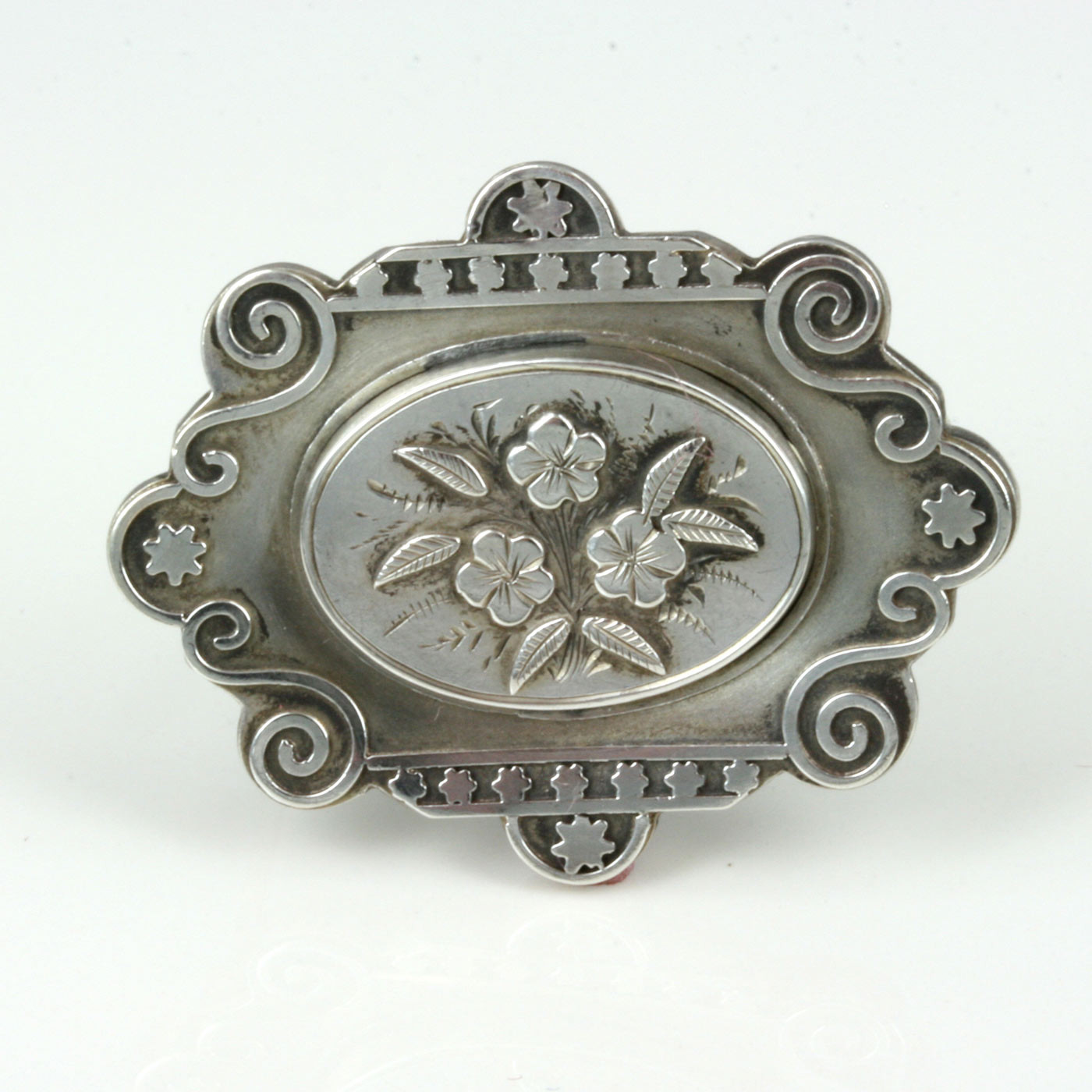 Metal Brooches  Buy Sterling silver Victorian brooch from 1882 Sold Items