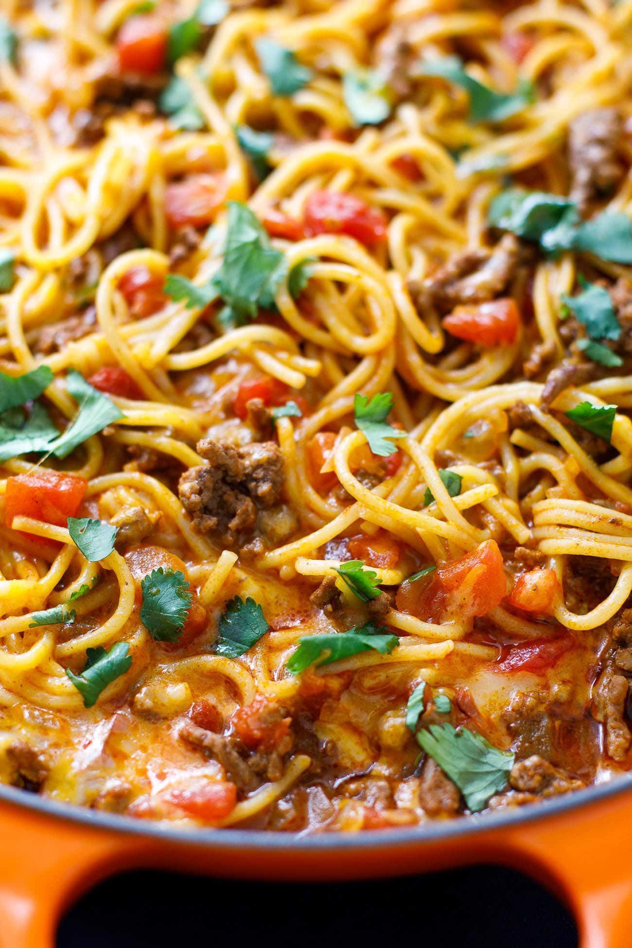 Mexican Spaghetti Candy  Mexican Spaghetti Casserole Easy Taco Spaghetti