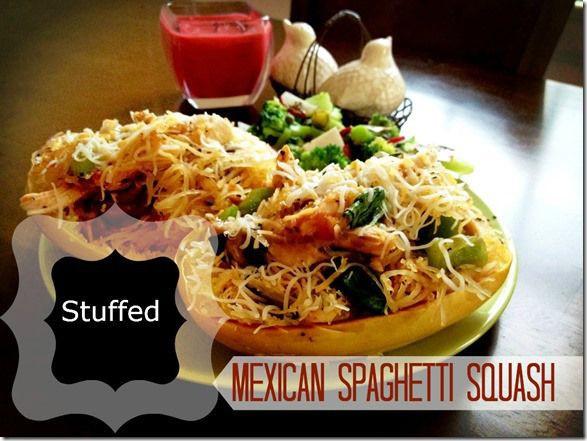 Mexican Spaghetti Candy  Mexican Stuffed Spaghetti Squash Candy Crazed Run