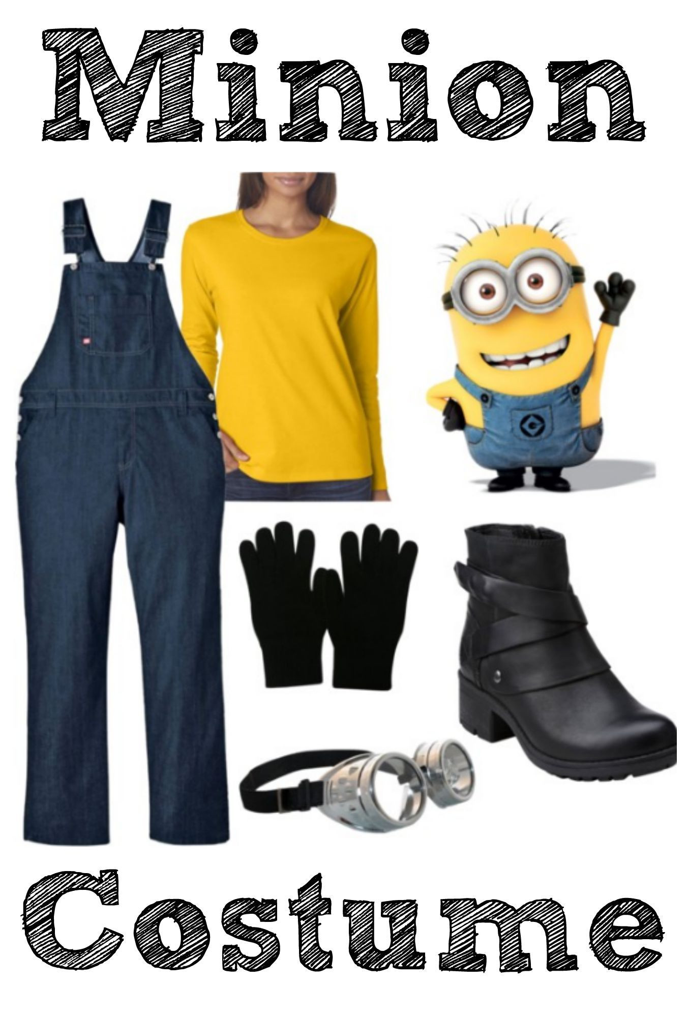 Minion Costume DIY Adults  Are you dressing up for Halloween This Year Check out