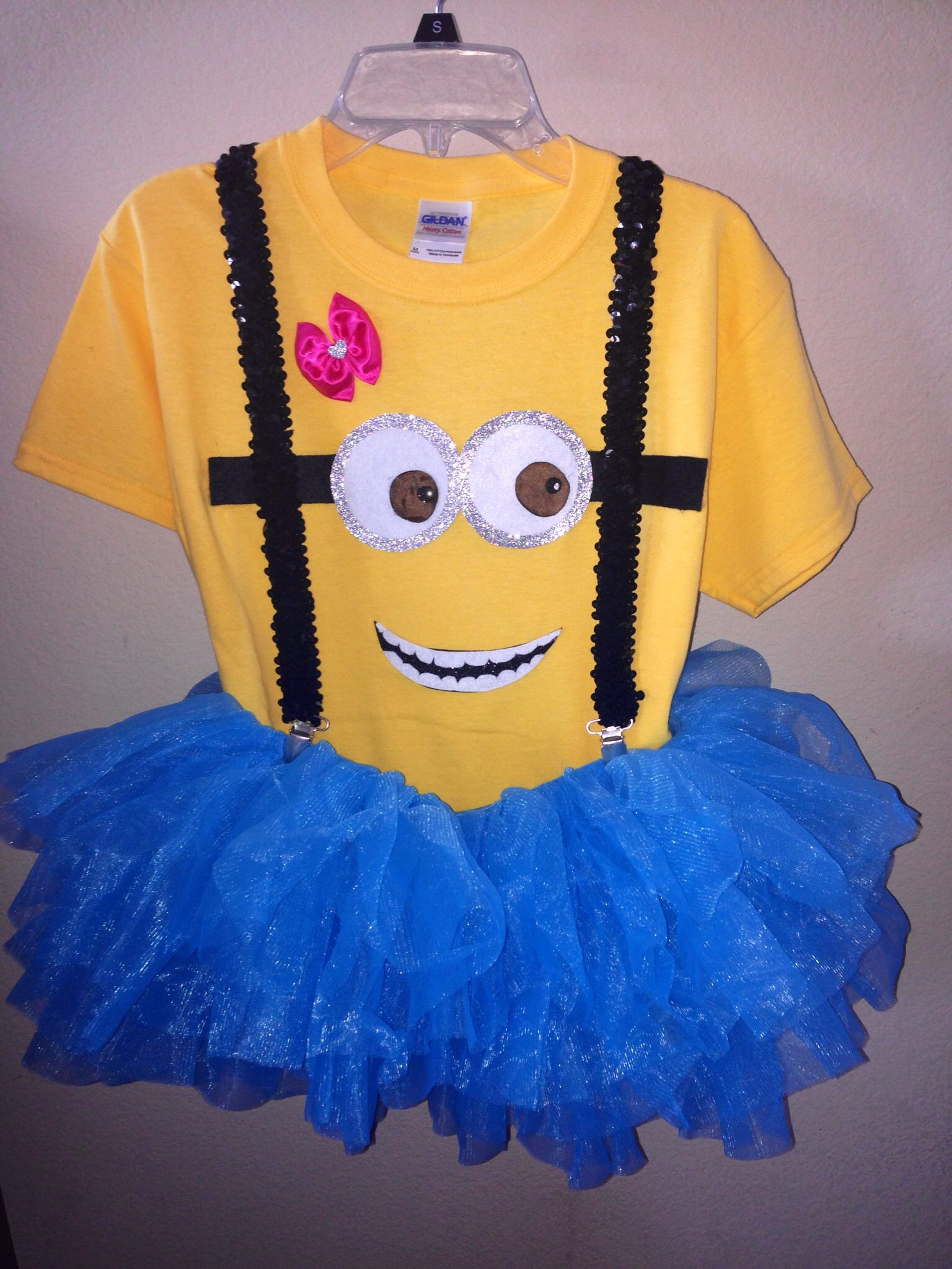 Minion Costume DIY Adults  Homemade minion costume For my Living Dolls