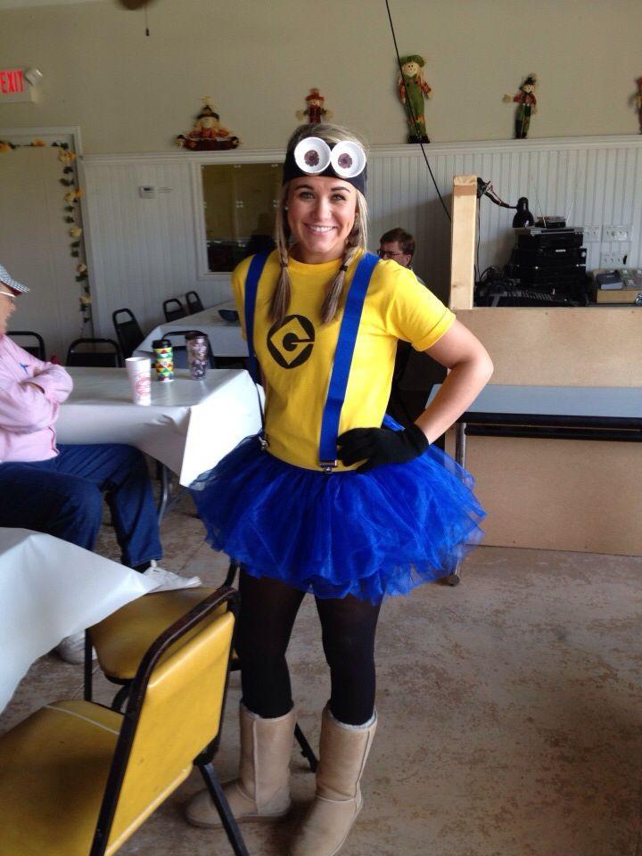 Minion Costume DIY Adults  DIY Minion costume
