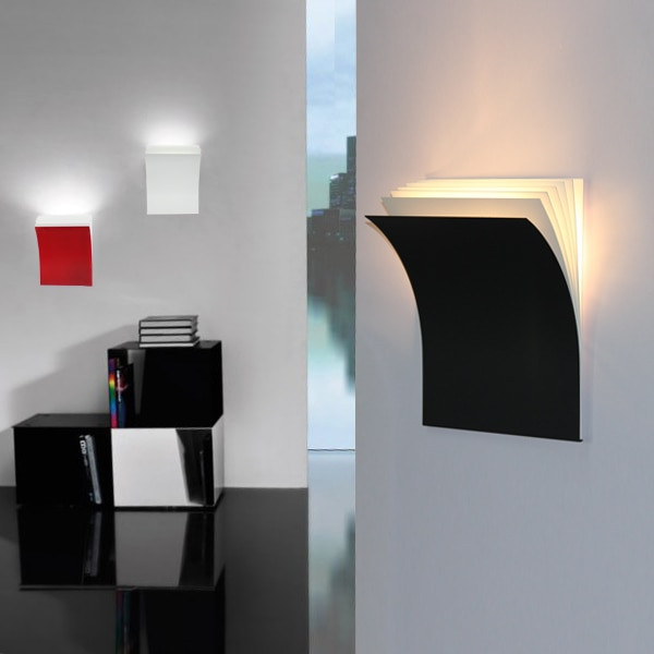 Modern Bedroom Sconces  Simple Style Creative Books Wall Sconce Modern LED Wall