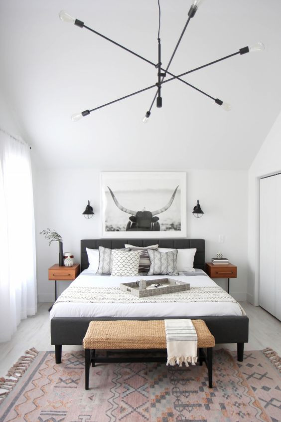 Modern Bedroom Sconces  3 Tips And 27 Ideas To Decorate An Ultimate Guest Room