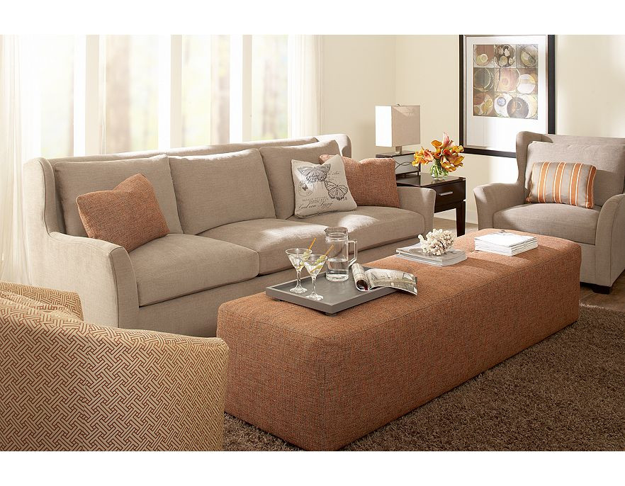 Modern Contemporary Living Room Furniture  Modern Furniture Havertys Contemporary Living Room Design