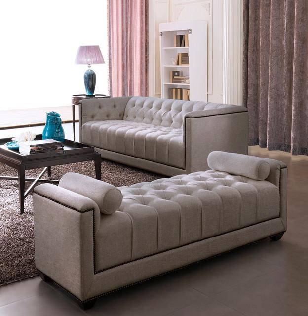 Modern Contemporary Living Room Furniture  Eden Moki Modern Sofa Set Modern Living Room