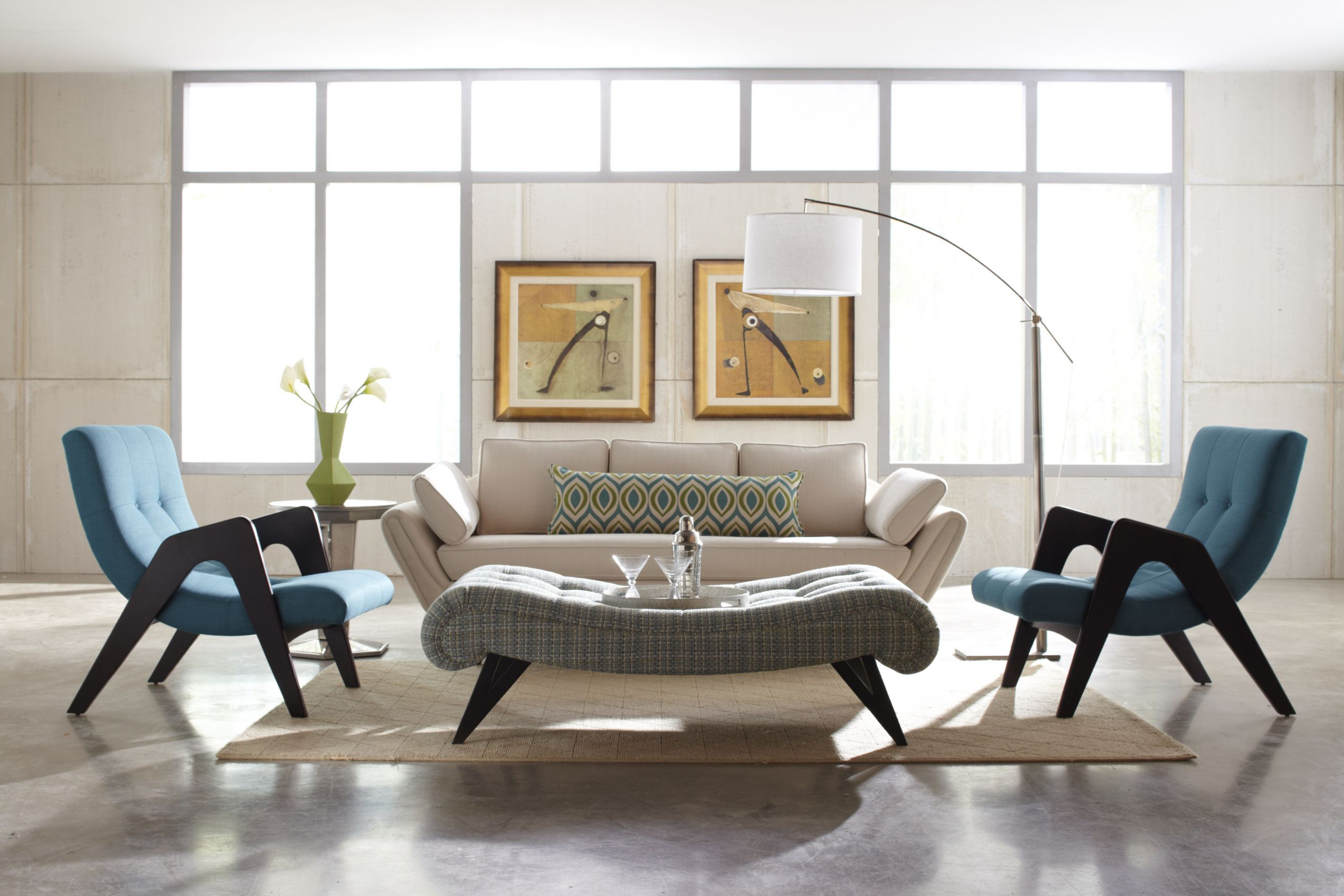 Modern Contemporary Living Room Furniture  Contemporary or Modern What's the difference in interior