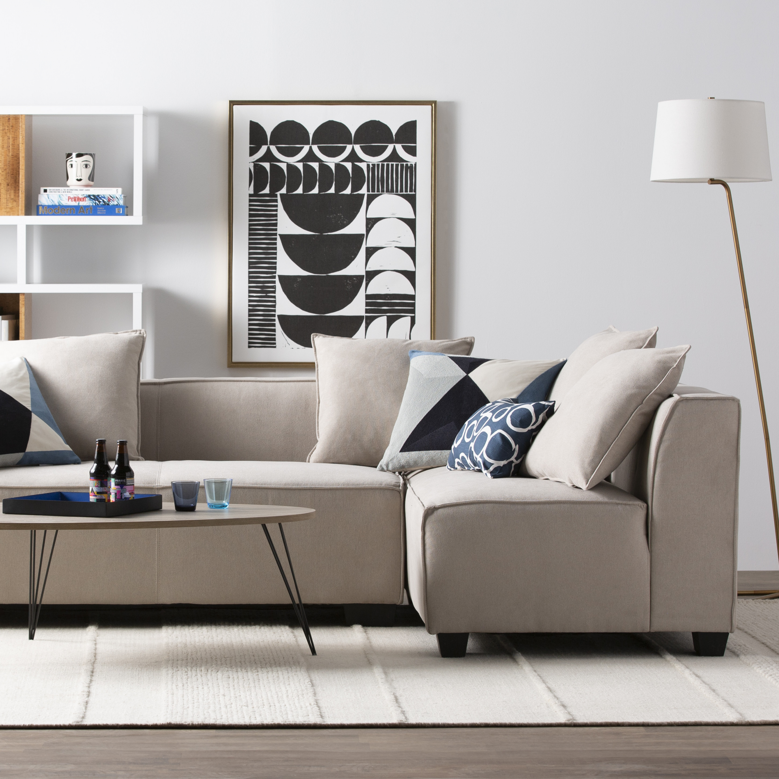 Modern Contemporary Living Room Furniture  Modern & Contemporary Living Room Furniture