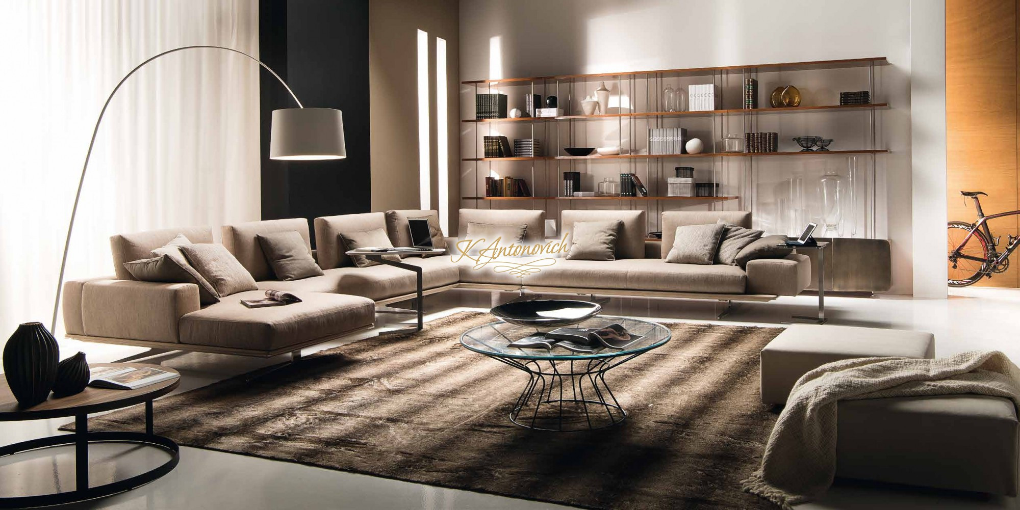 Modern Contemporary Living Room Furniture  Modern italian living room furniture