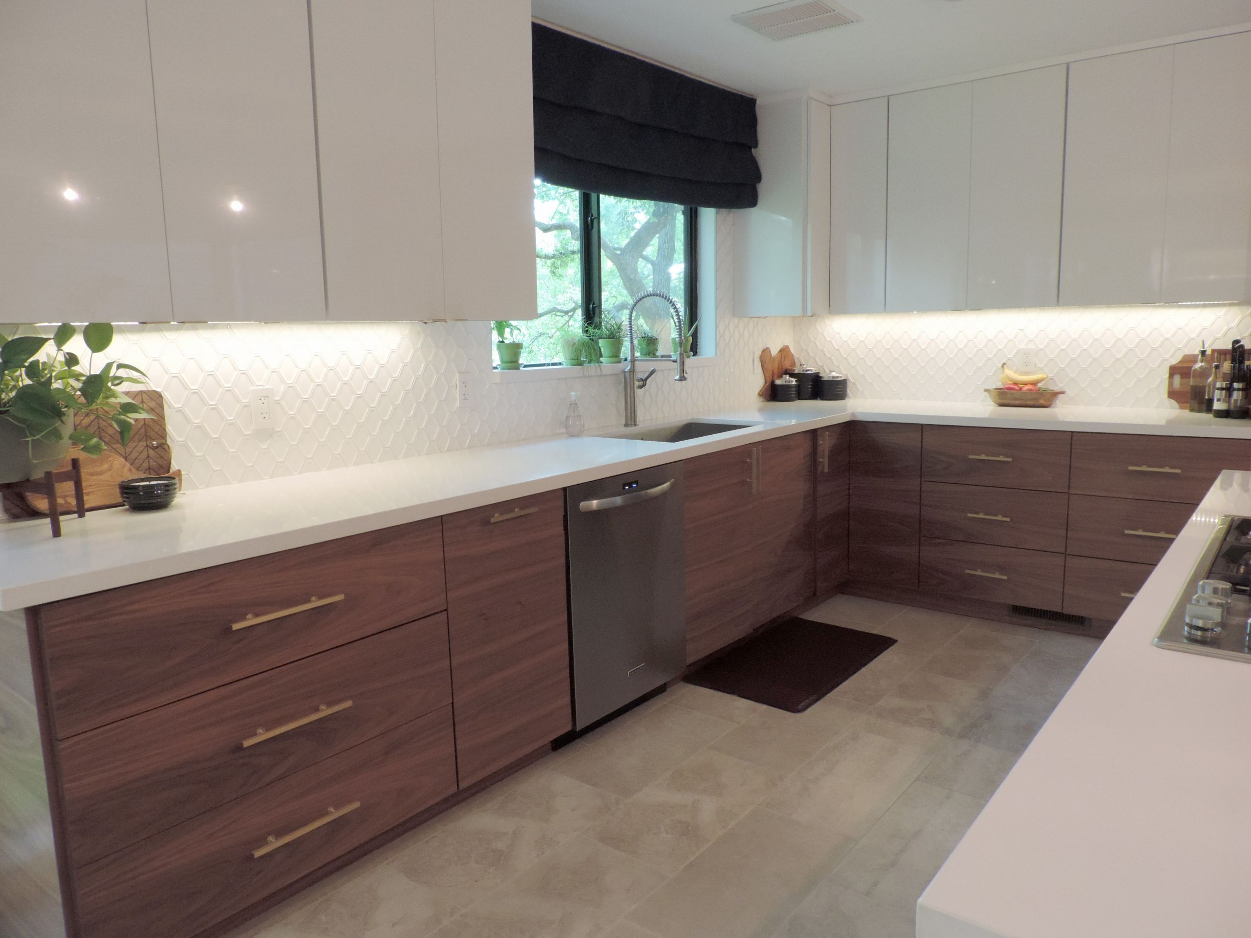 Modern Kitchen Cabinets Ikea  This Mid Century Modern IKEA Kitchen Will Take Your Breath